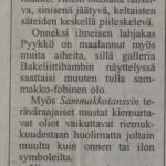 Helsingin Sanomat 1999