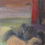 Haahkoja rannalla- sarjaa, a. 50x 50 cm, 2008<br>Eiders