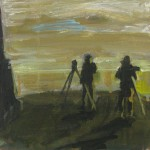Staijarit, 20x 20 cm, 2008<br>Bird watchers