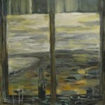 Norra viken, 80x 70 cm, 2008<br>A view to the west