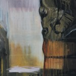 Kivikuvat I, 50x 61 cm, öljy kankaalle, 2002<br />     Stone pictures I, oil on canvas