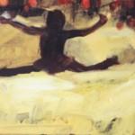 Kesäsarja, 22x 27 cm, akryyli kankaalle, 2001<br />        Summer series, acrylic