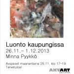 Minna Pyykkö Akvart Juliste Loka 2013 copy